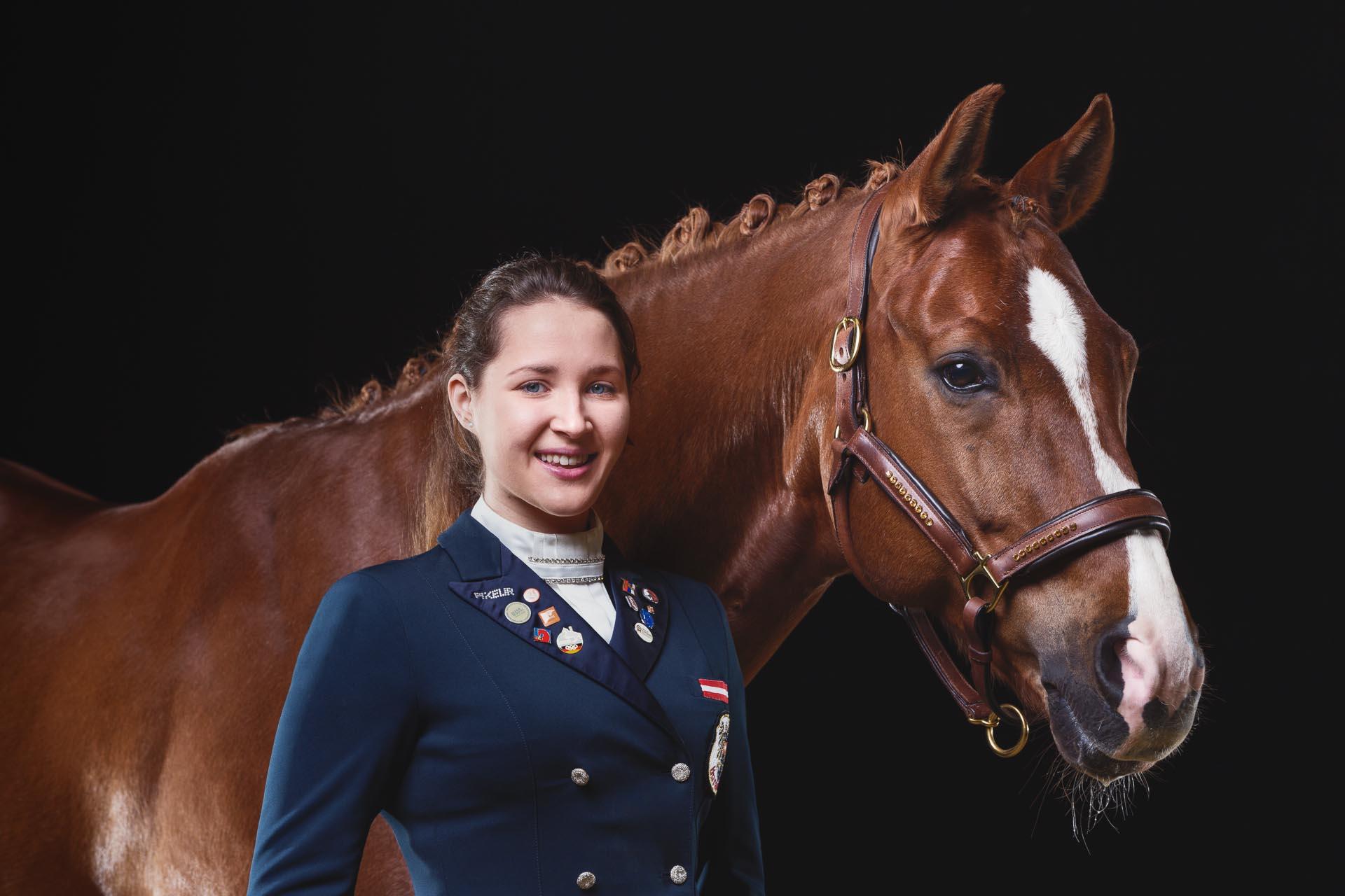 Victoria Wurzinger & Bvlgari © Pferdefotografie Tierlicht